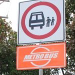 metrobus stop parada