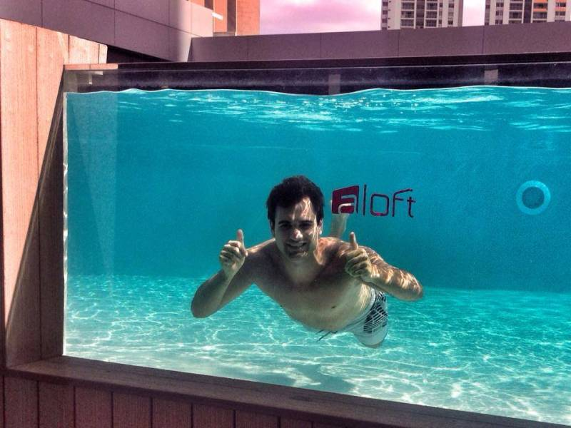 Aloft Pool Panama City Panama
