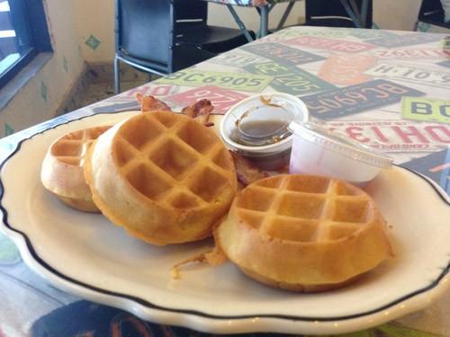 Waffles at Dainer 16