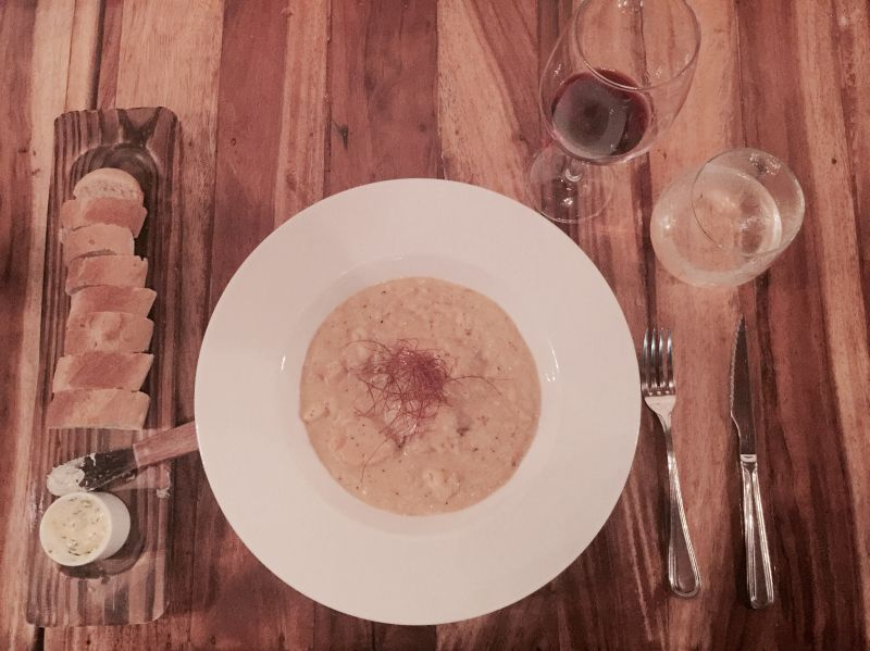 Lobster and Scallop Risotto