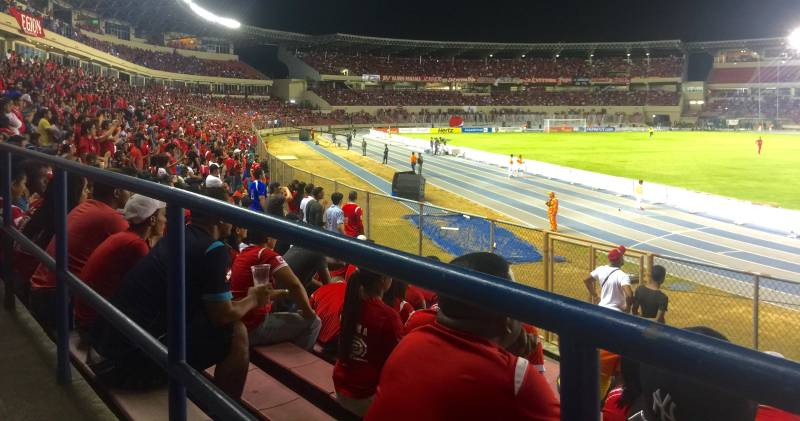 Panama Soccer Game