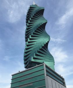F and F Tower aka El Tornillo in Panama City