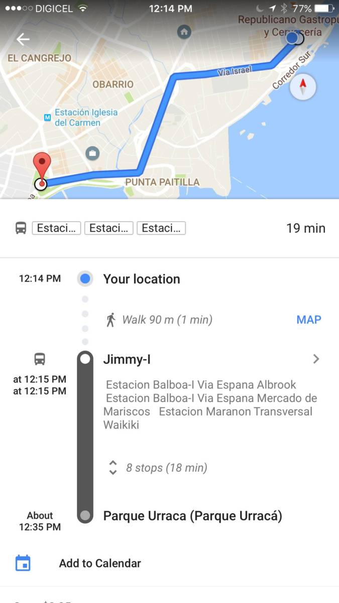 Google Just Made Panama S Confusing Bus System A Little Easier