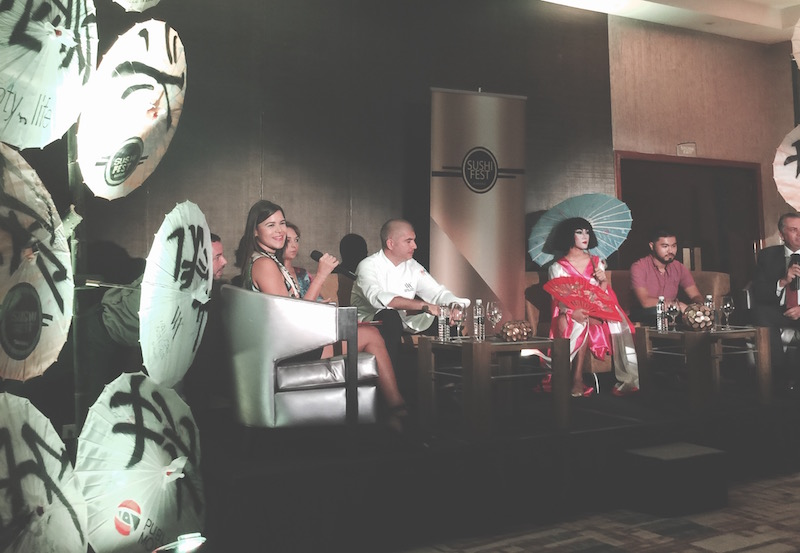 Panama Sushi Fest Press Conference, August 10 2016