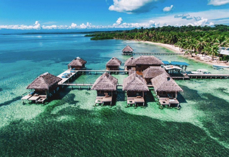 Bocas Del Toro Panama Resorts: Azul Paradise: Over-Water Bungalow Resort In Bocas Del Toro