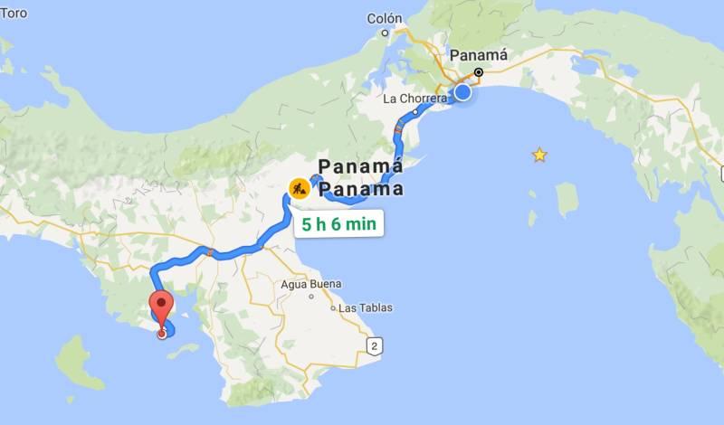 Santa Catalina Map
